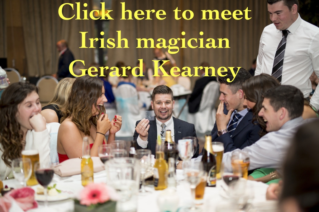 Gerard Kearney the magician